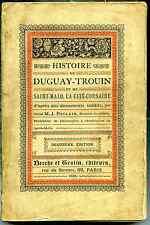 Histoire de Duguay-Trouin et de Saint-Malo (Ille et Vilaine) par J.Poulain