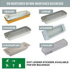8w mantenerse o no mantener Led De Emergencia Mamparo Luces Empotradas / superficie