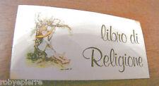 ADESIVO sticker adesivi stickers vintage HOLLY HOBBIE libro di RELIGIONE retrò