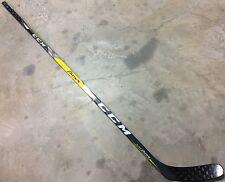CCM Super Tacks Pro Stock Hockey Stick Non-Grip 85 / 90 Flex Left H19 7221