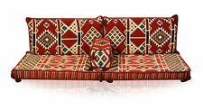 Turkish Kilim Corner Set Sofa Cushion pillows Ottoman Lounge Couch 4 pieces urfa