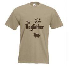 The Dogfather Shetland Collie t-shirt Sheepdog Sheltie Dog T-shirt all sizes