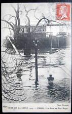 France~1924 PARIS~RIVER SEINE FLOODING~Crue de la Seine