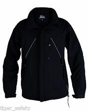 Himalayan Endurance H820BK Mens Black Softshell Jacket Wind Water Resistant Coat
