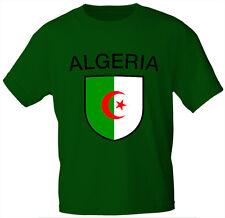 Kids Camiseta verde talla 98-164 estampado Emblema Argelia Argelia 76009