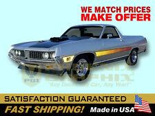 1971 Ranchero GT Laser Lazer Decal & Stripe Kit