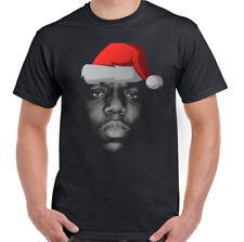 NATALE The Notorious B. I.G.Biggie PICCOLI Divertente da uomo Maxi t-shirt