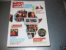 CIAO 2001 - N.18 '85 - U2 (MAXIPOSTER) - MAXIADESIVI