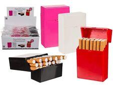 KING SIZE CIGARETTE BOX/CASE CIGARETTE PACK HOLDER 4 COLOURS 85MM