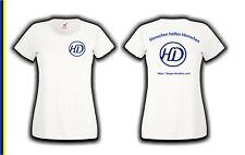 Happy Donation T-Shirt weiss Lady Girly Damen Menschen helfen Menschen S bis XXL
