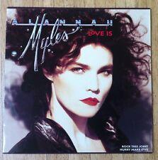 """ALANNAH MYLES Love Is 12""""-Maxi/GER"""