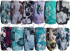 New Kids Boys Summer Floral Print Beach Shorts Surf Board Swim Shorts
