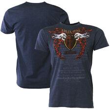"Forza MMA ""Immortal Crest"" T-Shirt - Midnight Navy"