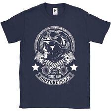 NEW York City MOTORCYCLE CLUB Skull Rider parti Croce da Uomo T-shirt
