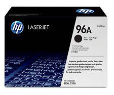HP C4096A (96A) Black LaserJet Toner Cartridge