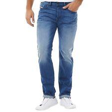 Diesel Herren Buster 0663D Jeans Blue Denim - W 31 L 34 - Rrp £110