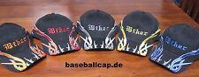 Baseballcap biker, tribal diferentes colores Cap sombrero gorra