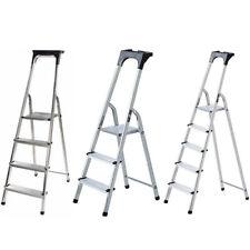 Brennenstuhl Escalera aluminio 3/4/5 peldaños 55/76/98kg Diferentes Medidas