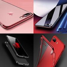 für iPhone 8 7 Plus HANDY HÜLLE + PANZER FOLIE GLAS Case Schutz Cover Zubehöre