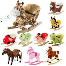 Homcom Schaukelpferd Schaukeltier Schaukelspielzeug Babyschaukel Spielzeug Baby