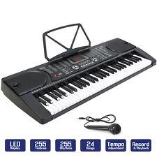 Digital Piano Music Keyboard - Portable Electronic Instrument - 61 Key