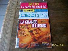 "ciel et espace 495  ""  la grande illusion ""."
