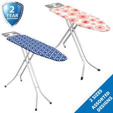 Ironing Board Large Height Adjustable Iron Rack Non Slip Folding Lightweight