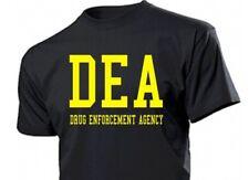 T-Shirt DEA Drug Enforcement Agency CSI CIA US Army NSA Spy Fun Shirt