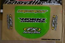 F X FRONT FENDER  GRAPHICS KAWASAKI KX125 KX250 KX500