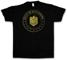 Mega City One Justice Dept LOGO II T-SHIRT-Judge COMIC Dredd Department Eagle