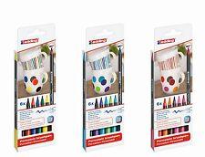 edding 4200 Porzellanstift Pinselstift Keramikpen 1-4mm Set wählbar