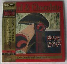 Elvis Costello-Blood & Chocolate Remastered Japon MINI LP CD Nouveau! VICP - 63501