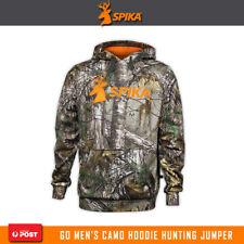 Spika Go Mens Camo Realtree Rtxg Hoodie Hunting Clothing Jumper Jacket Ghc