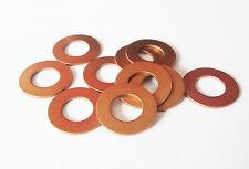 "Copper Washers (1/4"" 5/16"" 3/8"") 10pk Model engineering live steam model loco"