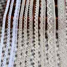 5Y Diverse Vintage Cotton Soluble lace Crochet Trim Wedding Bridal Ribbon Sewing