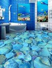3D Various Shell Water Floor WallPaper Murals Wall Print Decal 5D AJ WALLPAPER