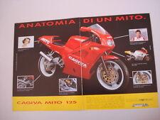 advertising Pubblicità 1991 MOTO CAGIVA MITO 125