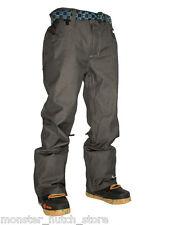 BRAND NEW W/ TAGS Technine NINES DENIM Snowboard Pant BLACK MEDIUM-2XLARGE SHELL