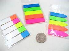 3 Paquetes De Adhesivo Práctico flúor reposicionables marcador Nota Adhesiva índice Tab marcador