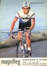 SILVANO SCHIAVON Cyclisme MAGNIFLEX 74 ciclismo Cycling Team ciclista 1974 vélo