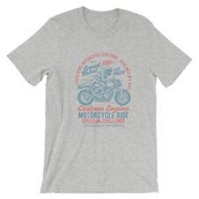 Speed Rebel T-Shirt. Motorcycle 100% Cotton Premium Tee NEW
