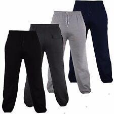 Para hombre puño elástico Polar Pantalones Deportivos Talla S-5XL cintura elástica de confort