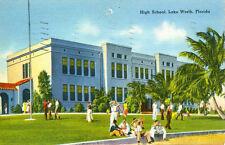 Lake Worth,Fl. The High School 1939