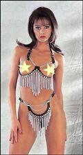 S-lingerie-Lusso Pelle catene-set: top e string aperto