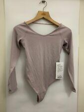 Lululemon Full Freedom Bodysuit NWT Sizes 4 6 8 10 SBLH Blush Nulu Fabric Thong