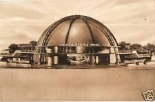 Postcard US Steel Building Model NY Worlds Fair 1939 NrMINT