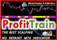 ProfitTrain No-Repaint Indicator Meta Trader 4 MT4 FOREX STOCKS FUTURES Trading