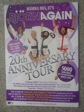 BJORN AGAIN(ABBA) MAY 2009 AUSTRALIAN TOUR POSTER MINT
