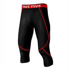 Take Five Mens Skin Tight Compression Base Layer Running Pants Leggings NT501 CA