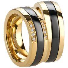 Ring Freundschaftsringe - Partnerringe - Verlobungsringe -  Edelstahl/Ceramic